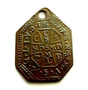 Antikes Schutzamulett mit Bannsprüche gegen den Teufel 17.Jh., Original!