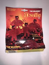 The Beadery halloween Devils Kit Ornament Craft Products Vintage