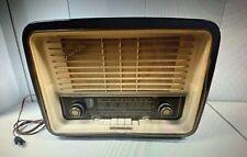 1950'S TELEFUNKEN GAVOTTE GERMAN SHORT WAVE TUBE RADIO, WORKS!