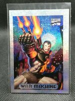 1994 marvel masterpieces silver holofoil War Machine #10 of 10