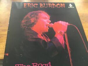 """Eric Burdon - The Road 12"""" LP Thunderbolt Records EX"""