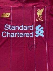Trent Alexander-Arnold Signed Liverpool Football Shirt AFTAL/UACC RD
