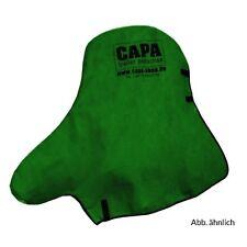 CAPA Deichselschutz-haube für Stützrad Deichsel-mütze Hülle Schutz Racing Green