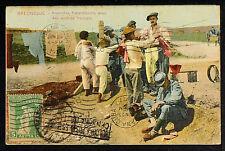 GREECE/GRÈCE 04-SALONIQUE/SALONICA -Anamites fraternisants avec des soldats fran