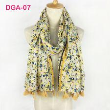 Écharpes et châles foulard à motif Floral en satin pour femme
