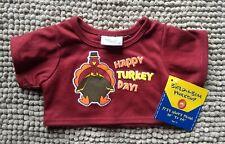 Brand New Happy Turkey Day Build a bear Shirt
