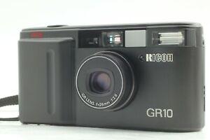 【 Exc +5 】 Ricoh GR10 Black Body 28mm F/2.8 Point & Shoot 35mm Film Camera JAPAN