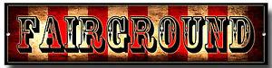 FAIRGROUND METAL SIGN,VINTAGE STYLE,FREAK SHOW, CIRCUS,WALL ART,RETRO