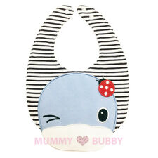 KuKu Duckbill Baby Bib Blue