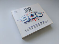 100 Hits 90's - 5xcd's Box Set in Slipcase - 2007 Demon music group.