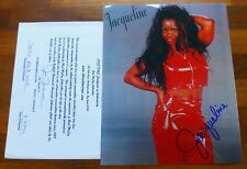 Jacqueline Moore-Wrestling Legend A Hand Signed Photo 25 x 24 cm -Rare With Coa