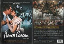 French Cancan (1954) DVD, NEW!! Jean Gabin, Françoise Arnoul, Jean Renoir