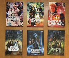 Adaptaciones Marvel Tapa Dura Star Wars Episodios 1 a 6 (Inglés)