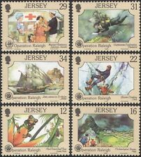 Jersey 1988 Raleigh/Frog/Medical/Red Cross/Diver/Ship/Climbing 6v set (n26063)
