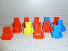 LEGO® Technic Sammlung 12x Sitze seat 2717 blau gelb rot 8248 8412 8443 R1329