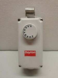 Dayton 6EDY5 Line Voltage Thermostat Tstat NOS PRIORITY SHIPPING    (a7)