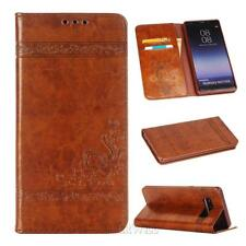 For Samsung Galaxy Note 8 Magnetic Flip PU Leather Wallet Stand Case Cover
