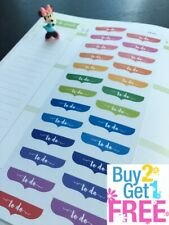 S041- Things to Do Planner Stickers for Erin Condren