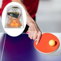 2 Player Table Tennis Ping Pong Set Includes 3 Balls Two Paddle Bats Game  Nice