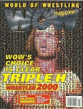 World of Wrestling WOW Magazine Feb. 2001 Vol. 2 Issue 10  Very Good Condition