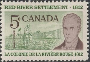CANADA - 1962 - 150th Anniversary of Red River Settlement 😀 MNH 😊 Scott #397