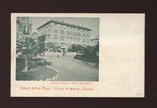 Italy SPEZIA Grand Hotel Royal Croce di Malta c1902 u/b PPC