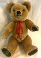 """Merrythought Mohair Teddy Bear Fully Jointed Exclusive Harrods of England 16"""""""