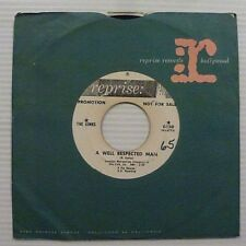 THE KINKS A Well Respected Man / Such A Shame PROMO 45 Reprise 0420