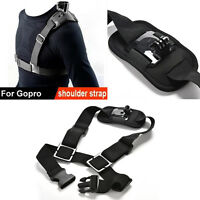 For  Shoulder Chest Strap Mount Harness Belt Hero 3+ 4 Session AccessoryAHK