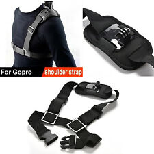 For GoPro Shoulder Chest Strap Mount Harnais Belt Hero 3 3+ 4 session Accessoire