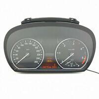 BMW 1 E81 Diesel 2.0 Compteur Speedo de Vitesse Instrument Cluster Km/H 9141477