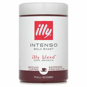 illy Intenso Bold Roast Ground Coffee, 250g