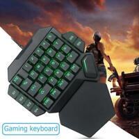 K50 Wired USB One-Handed Keyboard Macro Definition Mechanical Gaming Keypad UK