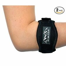 Tennis Elbow Brace, Tennis & Golfers Elbow Pain Relief with Compression Pad