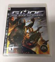 G.I.Joe the Rise of cobra ( playstation 3 , 2009 ) PS3 NEW