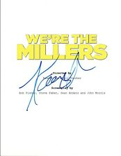 Kathryn Hahn Signed Autographed WE'RE THE MILLERS Movie Script COA VD