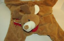 Baby Gund Nursery Rhyme COMFY COZY Reindeer Security Blanket Play Mat red scarf