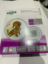 PetSafe Staywell Original 2 Way Pet Door Small White - Cat Dog Flap 715EF