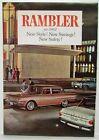 1962 AMC Rambler American Classic Ambassador New Style Sales Folder Mailer Orig