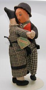 RARE Deans Charlie Chaplin & Auntie Dancing Drolls - Old Antique Doll Teddy Bear