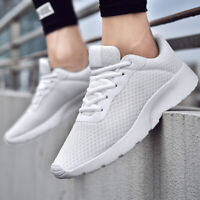 Mens Running Shoes Outdoor Breathable Sports Casual Tennis Sneakers Trainer Gym