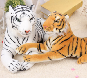 New Large Brown Animal Tiger Soft Plush Teddy Cuddly Toy Ornaments Kids Gift AU