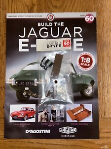 Deagostini Build Your Own 1/8th Jaguar E- type Issue 60