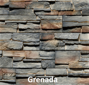 Exterior Stacked Stone - SAMPLES - Stone Cladding, Feature Stone Wall,Split Face