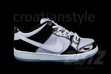 Nike Dunk Low SB CONCORD White BLACK PATENT space jam SZ 8.5 supreme 304292-043