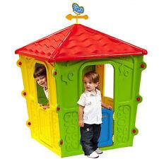 Casetta per bambini da esterno o interno Play House 108x018x159 h cm