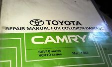 1993  TOYOTA CAMRY  Collision Damage Factory Repair Manual