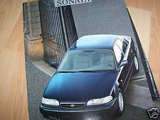 Catalogue / Brochure HYUNDAI Sonata 199? //