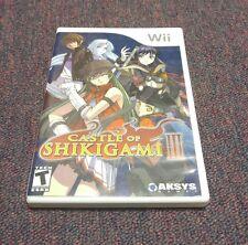 Castle of Shikigami III (Nintendo Wii, 2008)
