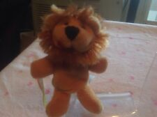 "Starbucks Lion Collectible Plush 4"" Finger Puppet Jungle Series"
